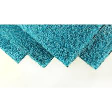 greenline caribbean blue artificial grass synthetic lawn turf indoor outdoor carpet sold by 6