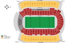 Commonwealth Stadium Seating Chart Rows Elcho Table