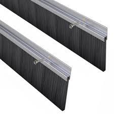 stormguard garage door draught excluder brush seal 2500mm 2 x 1250mm lengths