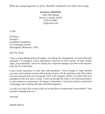 Cover Letters That Get You Hired Marketing Job Cover Letter Sample