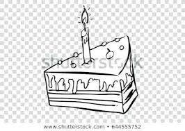 Birthday Cake To Draw Hand Draw Sketch Of Birthday Cake Birthday
