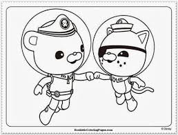 241325 Octonauts Coloring Pages To Print