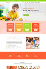 Kids School Website Template Most Popular Psd Template Website Templates