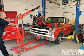 How To Drop An LS Engine In A '67-'72 Chevy - Hot Rod Network