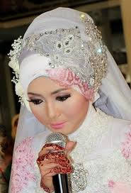 hijab pengantin 2016 feedyeti