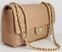 Buy Italian Leather Quilted Designer Inspired Classic Handbag ... & Buy Italian Leather Quilted Designer Inspired Classic Handbag & Shoulder Bag  by Handbag Bliss! in Cheap Price on Alibaba.com Adamdwight.com