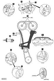 Ford 5 4 timing chain diagram 2006 ford explorer timing chain tensioner diagram