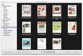 Apple Flyer Templates Apple Flyer Templates Pages Brochure Make A In On The Mac Jourjour Co