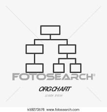 Org Chart Visualization Org Chart Flat Logo Project Management Icon Data