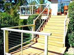 fancy installing deck railing posts corners building stairs porch designs steps patio corner post i40