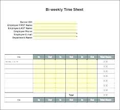 Billable Hours Timesheet Billable Hours Template Excel Free Time Sheets Weekly Employee