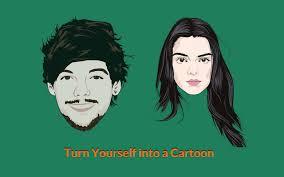 yourself a cartoon