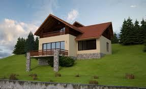 Design Exterior Case Moderne : Slope house plans functional design
