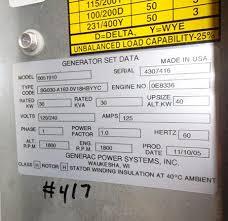 Important Generator Set Genset Rating Considerations Eep