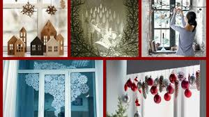 Window Decoration Diy Christmas Window Decorations Ideas Winter Decorating Ideas
