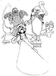 Geweldige Mario Luigi Kleurplaat Krijg Duizenden Kleurenfotos Van