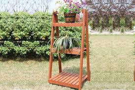 Wooden Ladder Display Stand 100Tier Vintage Style Wooden Ladder Display Stand 98