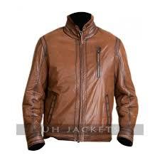 dayton shearling sheepskin leather jacket