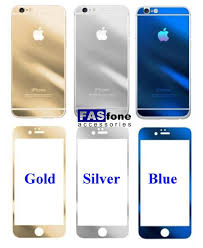iphone 5s gold and silver. gold/silver/blue tempered glass for iphone 5/5s,6,6 5s gold and silver