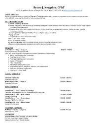 Pharmacy Technician Resume Objective pharmacy technician resume objectives cpht pharmacy technician 31