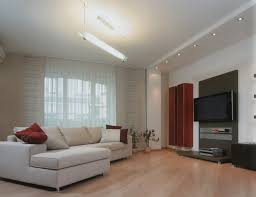 make your own sofa. Interior Design My Hous With Modern Large LCD TV And Recessed Lighting Feat White Sofa Ideas For Make Your Own Room