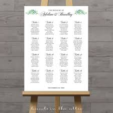 Seating Chart In Alphabetical Order Custom Seating Chart 6 Choices