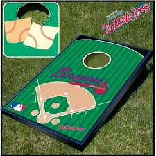 Wooden Bean Bag Toss Game Baseball Bean Bag Toss Braves Wooden Bean Bag Toss Game Diy 84