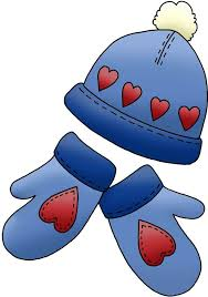 Image result for hats and mittens clip art