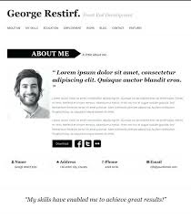 Wordpress Resume Template Digital Archivist Resume Archivist
