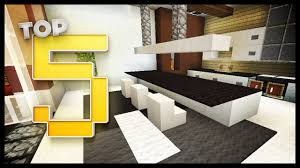 Minecraft Modern Kitchen Minecraft Kitchen Designs Ideas Youtube