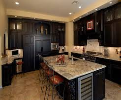 custom kitchen cabinets dallas. Unique Dallas Espresso Finish Custom Cabinets Traditional Kitchen Dallas  Intended P