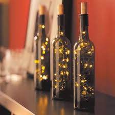 Bouteille Lumineuse  Christmas  Pinterest  Bottle Wines And Wine Bottle Christmas Crafts