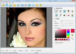 software free photo makeup editor is little software only 3 19mb the name of photo makeup editor talks