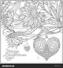 Small Picture Flower Happy Valentine Coloring Pages Alric Coloring Pages