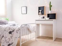 kids bedroom furniture with desk. mocka jordi desk white with shadow boxes and sonata bed kids bedroom furniture