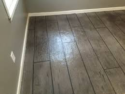 Concrete Wood Floors All Around Surfaces Wood Look Concrete Overlay Flooring