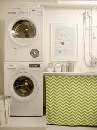Glamorous Utility Room Ideas Photo Design Inspiration. Ci Benita Larsson  Laundry White Washer Dryer Zig Zag Frame Sink S Rend Hgtvcom