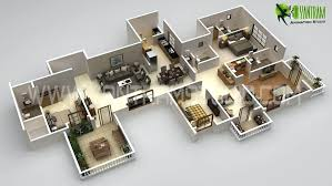 office floor plans online. 3d Floor Plan Commercial Concepts Office Online Plans