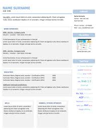 Editable Resume Templates Website With Photo Gallery Html Resume