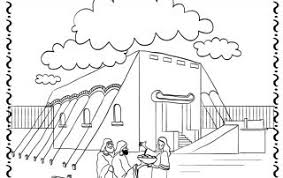 Image Result For Israelites Built The Tabernacle Coloring Page