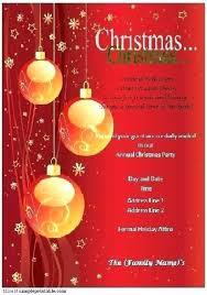 Christmas Design Templates Free Christmas Invitation Design Templates Free Holiday Invitation