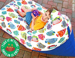 how to make a bean bag chair gint bechbll wnted mke r covers for stuffed animals