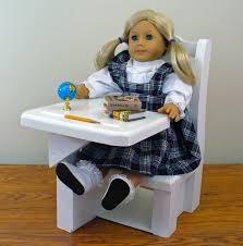 american girl sized school desk 18 doll by hardwoodfurniture