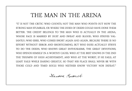 Best 19 The Man In The Arena Quote Famous Quotes Quotes Famous