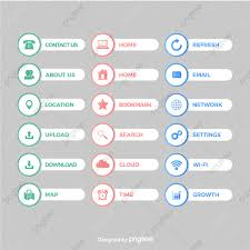 Vector Image Format In Ui Design Transparent Icon Button Design Vector Png Ui Design