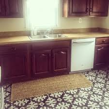 we got our new appliances this past week you can see my new dishwasher with my ugly old cabinets it could not had been better timing my old one stopped