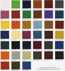 True To Life Car Colors Paint Chart Metallic Color Paint