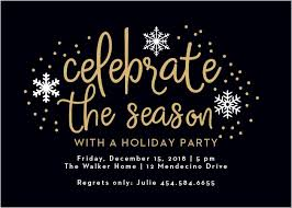 Party Invitation Background Image Christmas Party Invitations Match Your Color Style Free Basic