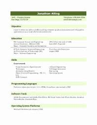 Resume Usa Amazing Fresher Resume Format In Usa Unique Resume Format For Job Interview