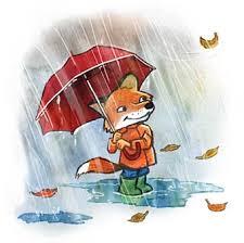 Bildresultat för regn tecknat